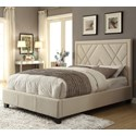 Modus International Geneva Cal King Vienne Platform Storage Bed - Item Number: 3Z45D620