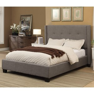 Full Madeleine Platform Storage Bed