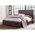 Modus International Heath California King Panel Slat Bed