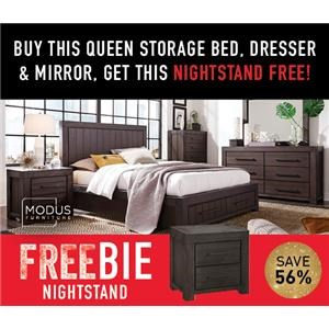 Heather Queen Bed Package with Freebie!