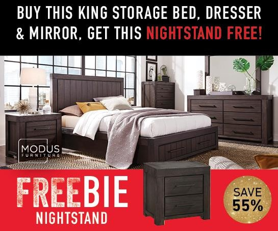 Heather Heather King Bedroom Package with FREEBIE! by Modus International at Morris Home