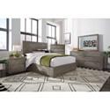 Modus International Herringbone California King Bedroom Group - Item Number: 5QS3 CK Bedroom Group 1