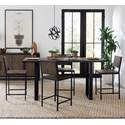 Modus International Hudson 5-Piece Counter Table Set - Item Number: 9GP166+4x169