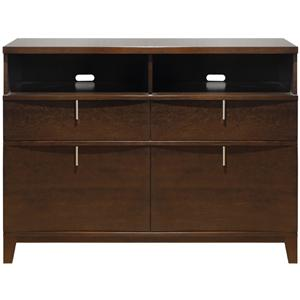 Modus International Legend Wood Two Drawer Media Chest