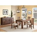 Modus International Meadow Casual Dining Room Group - Item Number: 3F41 Dining Room Group 1