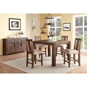 Modus International Meadow Casual Dining Room Group - Item Number: 3F41 Dining Room Group 10