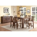 Modus International Meadow Formal Dining Room Group - Item Number: 3F41 Dining Room Group 11