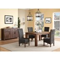 Modus International Meadow Casual Dining Room Group - Item Number: 3F41 Dining Room Group 2