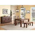 Modus International Meadow Casual Dining Room Group - Item Number: 3F41 Dining Room Group 3