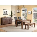 Modus International Meadow Casual Dining Room Group - Item Number: 3F41 Dining Room Group 4