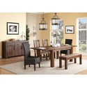 Modus International Meadow Formal Dining Room Group - Item Number: 3F41 Dining Room Group 5