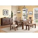 Modus International Meadow Formal Dining Room Group - Item Number: 3F41 Dining Room Group 6