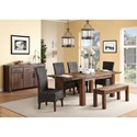 Modus International Meadow Formal Dining Room Group - Item Number: 3F41 Dining Room Group 7