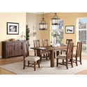 Modus International Meadow Formal Dining Room Group - Item Number: 3F41 Dining Room Group 8