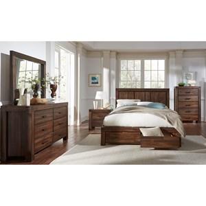 Modus International Meadow Bedroom Queen Bedroom Group