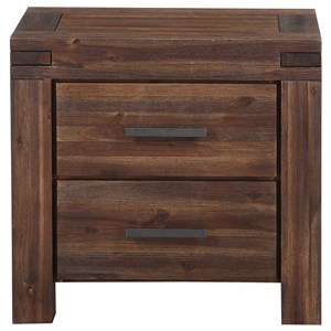 Modus International Meadow Bedroom 2 Drawer Nightstand