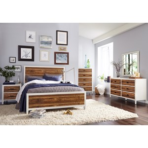 Modus International Montana Queen Bedroom Group