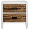 Modus International Montana 2 Drawer Nightstand - Item Number: 9WF481