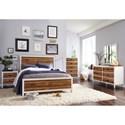 Modus International Montana Six Drawer Dresser with Top Felt-Lined Drawer