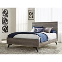 Modus International Nevada Queen Low-Profile Solid Wood Bed