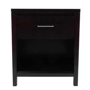 Modus International Nevis 1 Drawer Nightstand with Power