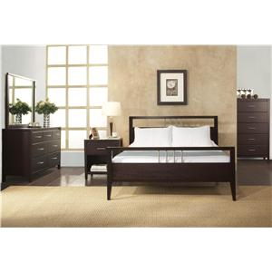 Modus International Nevis 4 Piece Queen Bedroom Group