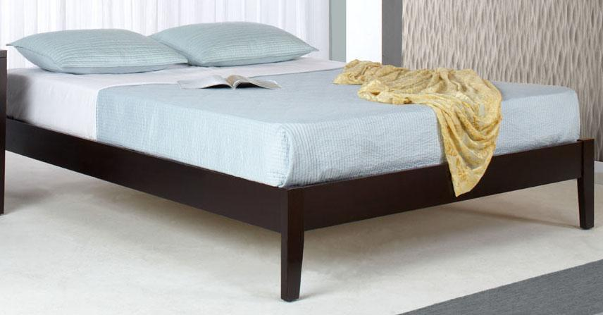 Modus International Nevis Twin Simple Platform Bed  - Item Number: SP23F3