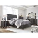 Modus International Philip Full Bedroom Group - Item Number: 3MT4 F Bedroom Group 1