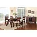 Modus International Portland Casual Dining Room Group - Item Number: 7Z48 Dining Room Group 1