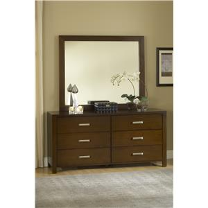 Modus International Riva 6 Drawer Dresser