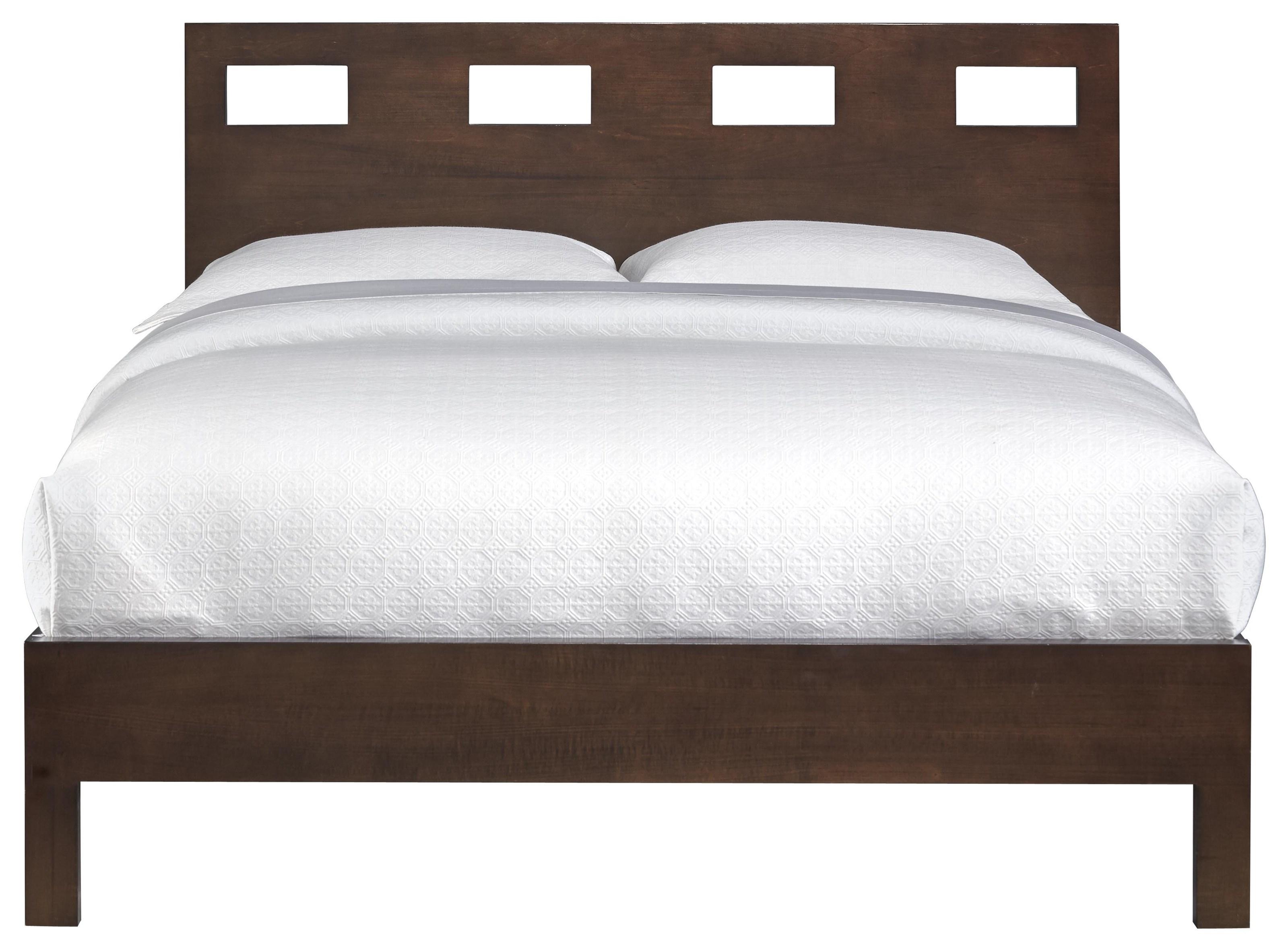 Modus International Riva Queen Bed - Item Number: Rv 26 F5 Riva