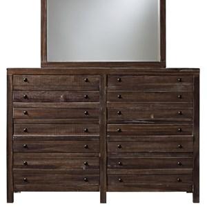Modus International Townsend 8 Drawer Dresser