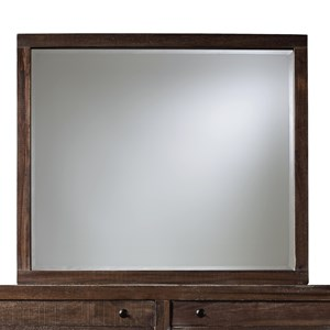 Modus International Townsend Mirror with Wood Frame