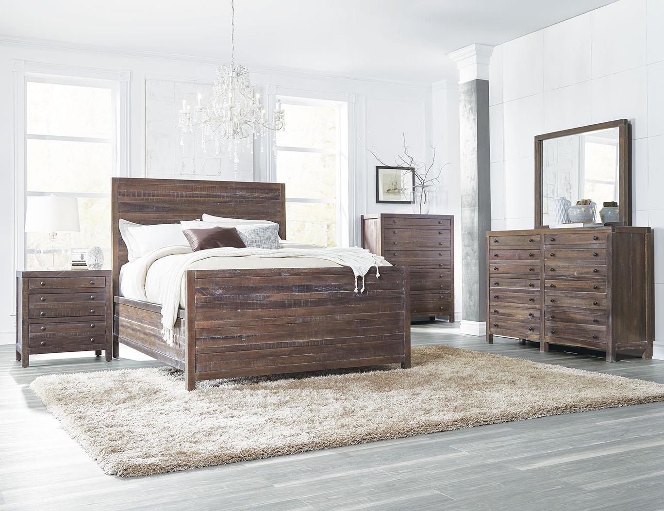 Trenton King 4 Piece Bedroom Set Ruby Gordon Furniture Mattresses Bedroom Groups