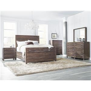 Modus International Trenton Queen 4-Piece Bedroom Set