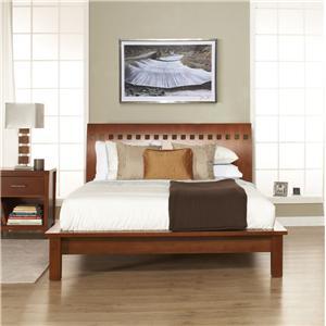 Veneto King Platform Bed by Modus International
