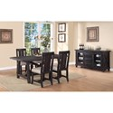 Modus International Yosemite Casual Dining Room Group - Item Number: 790 Dining Room Group 3