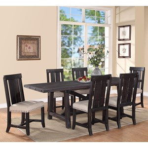 Modus International Yosemite 7-Piece Rectangular Dining Table Set & All Dining Room Furniture | Hartford Bridgeport Connecticut All ...