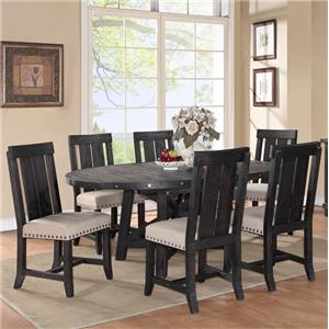 Modus International Hollister Ranch Cafe Dining Table and Chair Set
