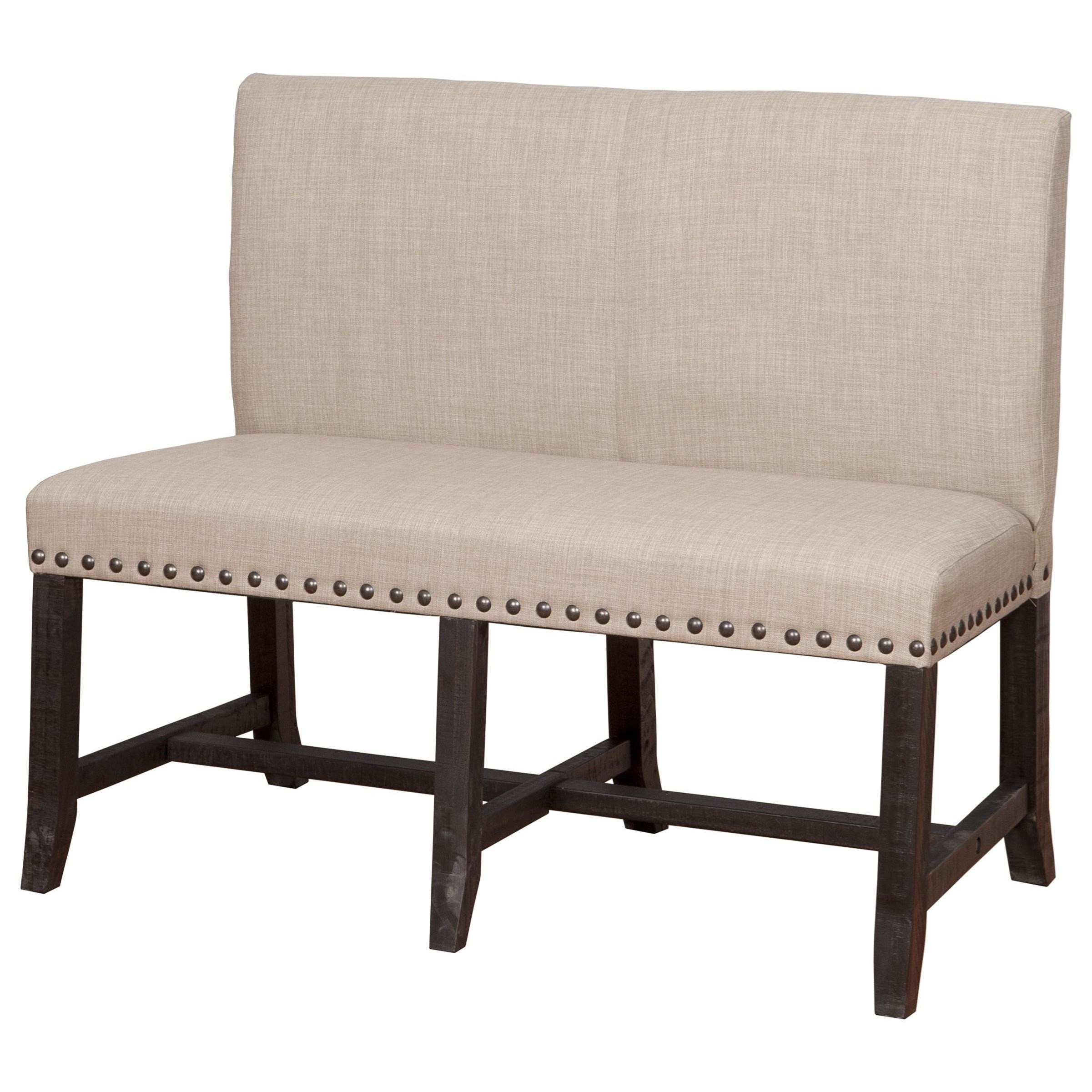 Solid Wood Dining Settee
