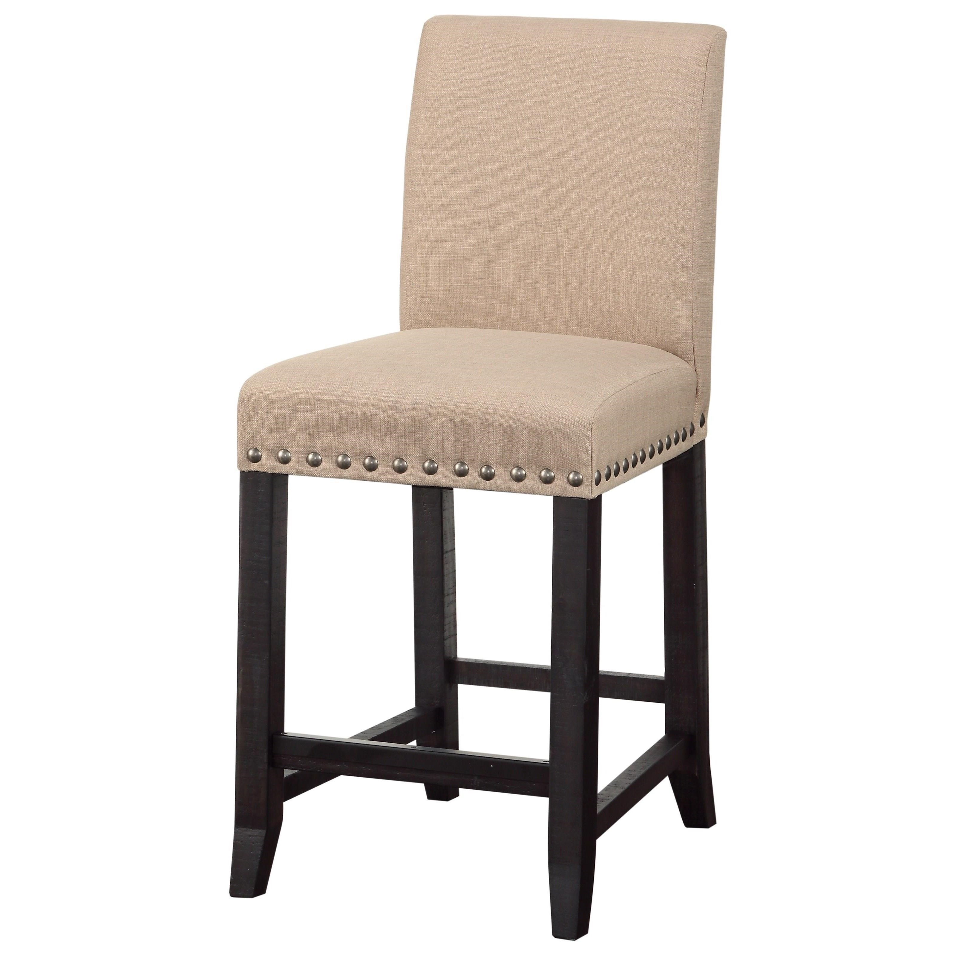Upholstered Kitchen Counter Stool