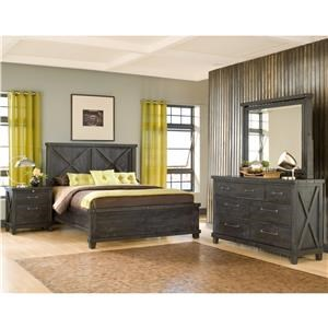 Modus International Zion 4-Piece Queen Bedroom Set