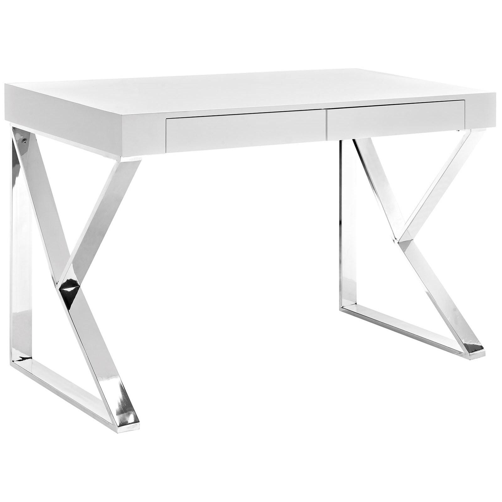 Modway Adjacent Adjacent Desk - Item Number: EEI-2047-WHI-SET