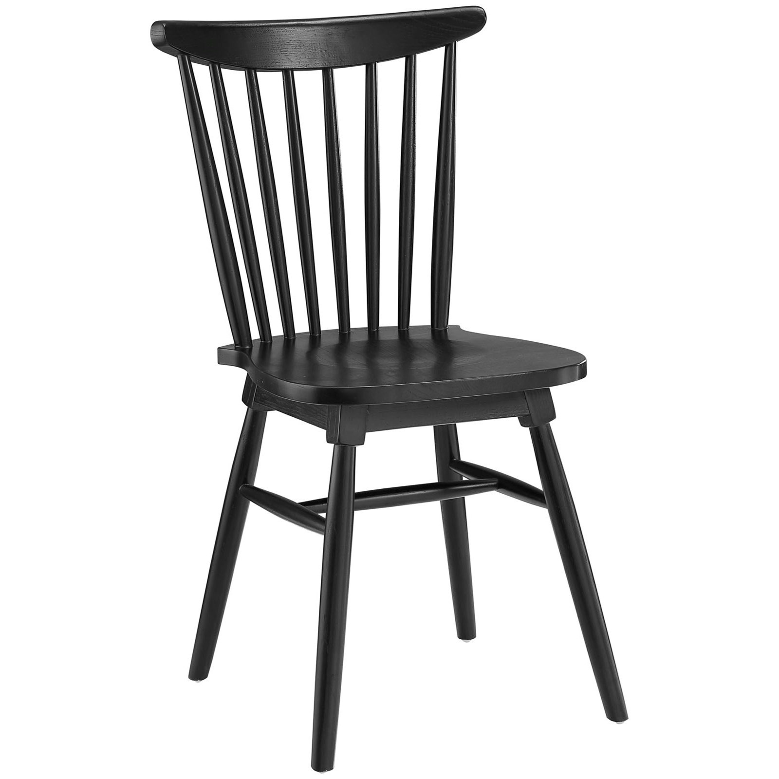 Modway Amble Dining Side Chair - Item Number: EEI-1539-BLK