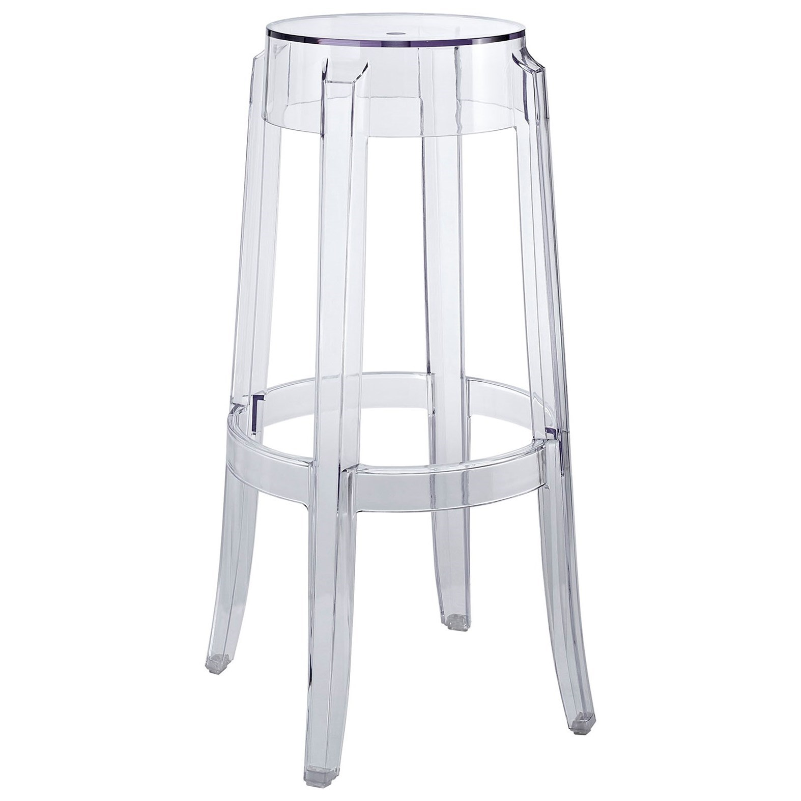 Modway Casper Acrylic Bar Stool Value City Furniture Bar Stools