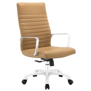 Finesse Highback Office Chair In Tan