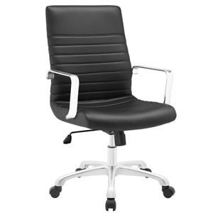 Finesse Mid Back Office Chair In Black