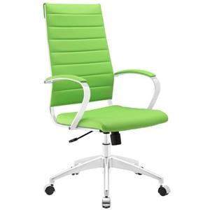 Jive Highback Office Chair In Bright Green
