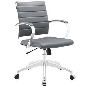 Jive Mid Back Office Chair In Gray