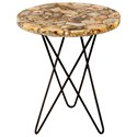 Moe's Home Collection Accent Tables Natura Agate Accent Table - Item Number: PJ-1001-24